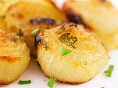 Cipolle gratinate | al forno