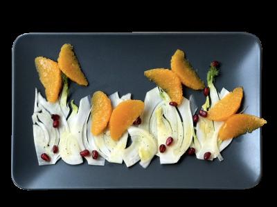 Farfalle di arance | in insalata
