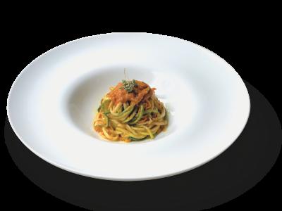 Spaghetti vegetali | di zucchine e carote